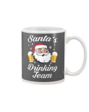 Santa Drinking Team Mug thumbnail