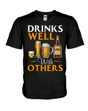 Well With Others V-Neck T-Shirt thumbnail
