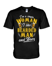 A Simple Woman V-Neck T-Shirt thumbnail
