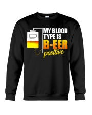 My Blood Type Crewneck Sweatshirt thumbnail