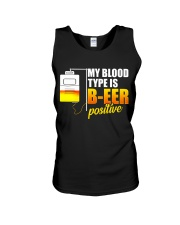 My Blood Type Unisex Tank thumbnail