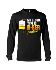 My Blood Type Long Sleeve Tee thumbnail