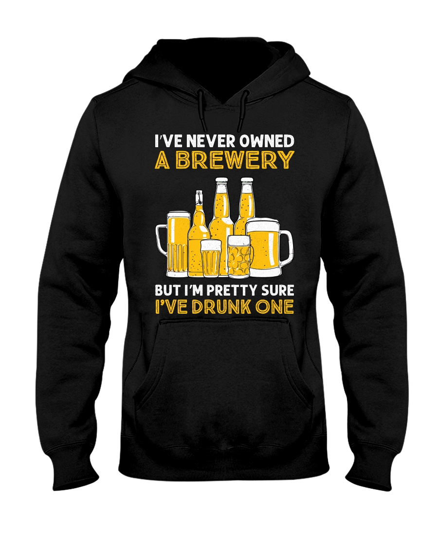 Drunk One Hooded Sweatshirt