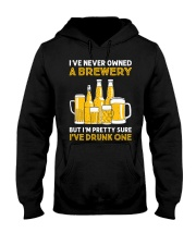 Drunk One Hooded Sweatshirt front