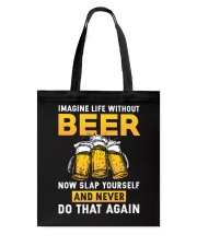 Imagine Beer Tote Bag thumbnail