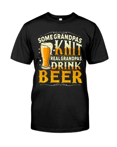 Real Grandpas Drink Beer