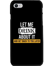 Get Back To You Later Phone Case thumbnail