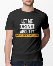Get Back To You Later Classic T-Shirt lifestyle-mens-crewneck-front-13