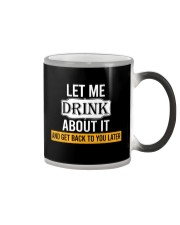 Get Back To You Later Color Changing Mug thumbnail