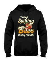 Spill Hooded Sweatshirt front