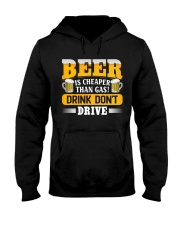 Drink Don't Drive Hooded Sweatshirt front