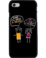I'll Have A Beer Phone Case thumbnail
