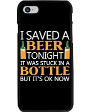 Saved A Beer Phone Case thumbnail