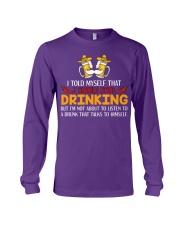 A Drunk Talks To Himself Long Sleeve Tee thumbnail
