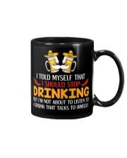 A Drunk Talks To Himself Mug thumbnail