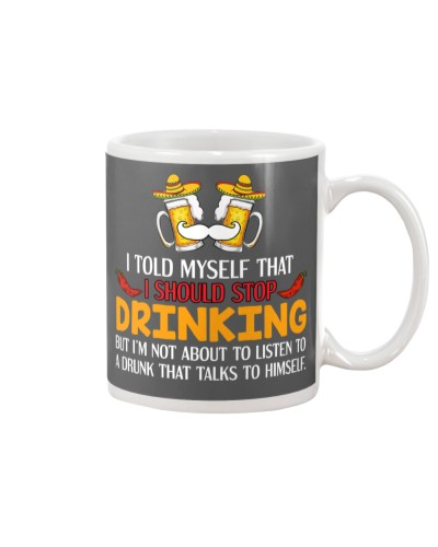 A Drunk Talks To Himself