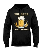 No Beer Hooded Sweatshirt front