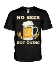 No Beer V-Neck T-Shirt thumbnail