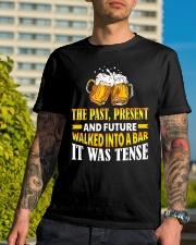 It Was Tense Classic T-Shirt lifestyle-mens-crewneck-front-8