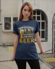Real Grandmas Drink Beer Classic T-Shirt apparel-classic-tshirt-lifestyle-19
