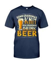 Real Grandmas Drink Beer Classic T-Shirt front