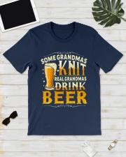 Real Grandmas Drink Beer Classic T-Shirt lifestyle-mens-crewneck-front-17