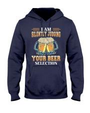 Silently Judging Hooded Sweatshirt thumbnail