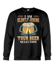Silently Judging Crewneck Sweatshirt thumbnail