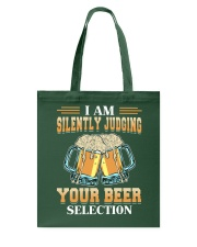 Silently Judging Tote Bag thumbnail
