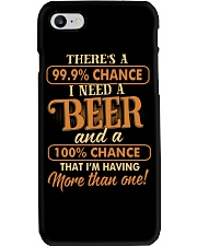 Having More Than One Beer Phone Case thumbnail