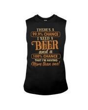 Having More Than One Beer Sleeveless Tee thumbnail