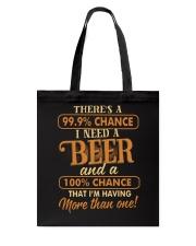 Having More Than One Beer Tote Bag thumbnail