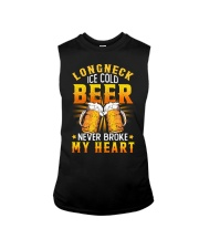 Longneck Ice Cold Beer Sleeveless Tee thumbnail