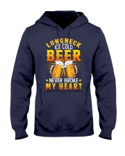 Longneck Ice Cold Beer Hooded Sweatshirt thumbnail