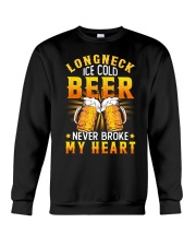 Longneck Ice Cold Beer Crewneck Sweatshirt thumbnail