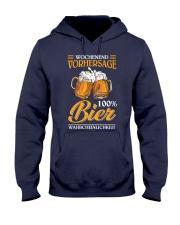 Wochenend Vorhersage Bier Hooded Sweatshirt thumbnail