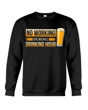No Working Crewneck Sweatshirt thumbnail