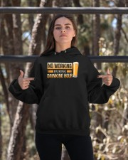No Working Hooded Sweatshirt apparel-hooded-sweatshirt-lifestyle-05