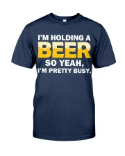 Hold A Beer Classic T-Shirt front