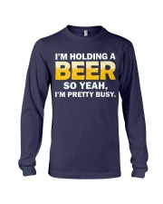Hold A Beer Long Sleeve Tee thumbnail
