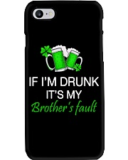 My Brother Fault Phone Case thumbnail