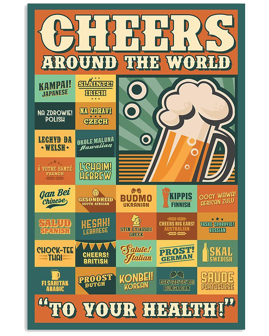 Cheers Around The World 16x24 Poster
