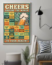Cheers Around The World 16x24 Poster lifestyle-poster-1