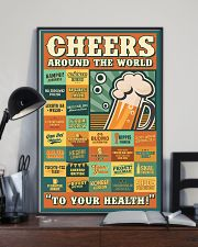 Cheers Around The World 16x24 Poster lifestyle-poster-2