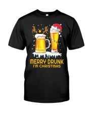 Merry Drunk Classic T-Shirt thumbnail