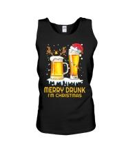 Merry Drunk Unisex Tank thumbnail