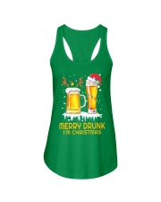 Merry Drunk Ladies Flowy Tank thumbnail