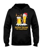 Merry Drunk Hooded Sweatshirt front