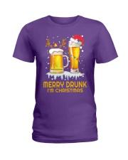 Merry Drunk Ladies T-Shirt thumbnail
