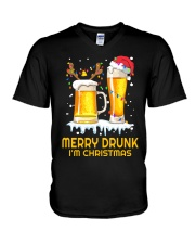 Merry Drunk V-Neck T-Shirt thumbnail